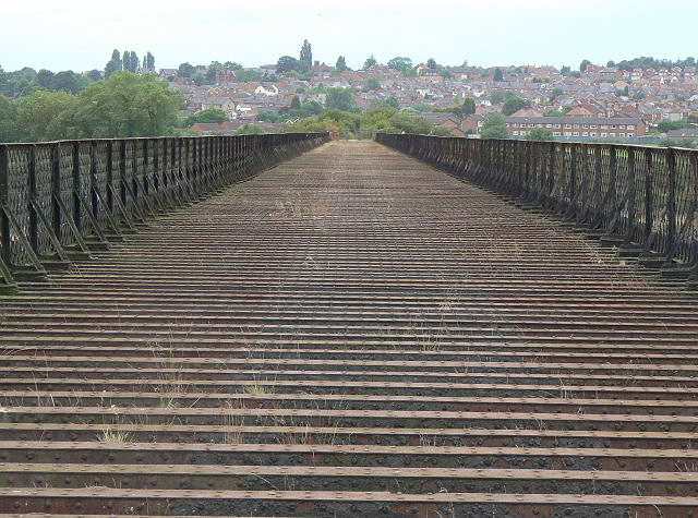 On Bennerley Viaduct - geograph.org.uk - 1409622