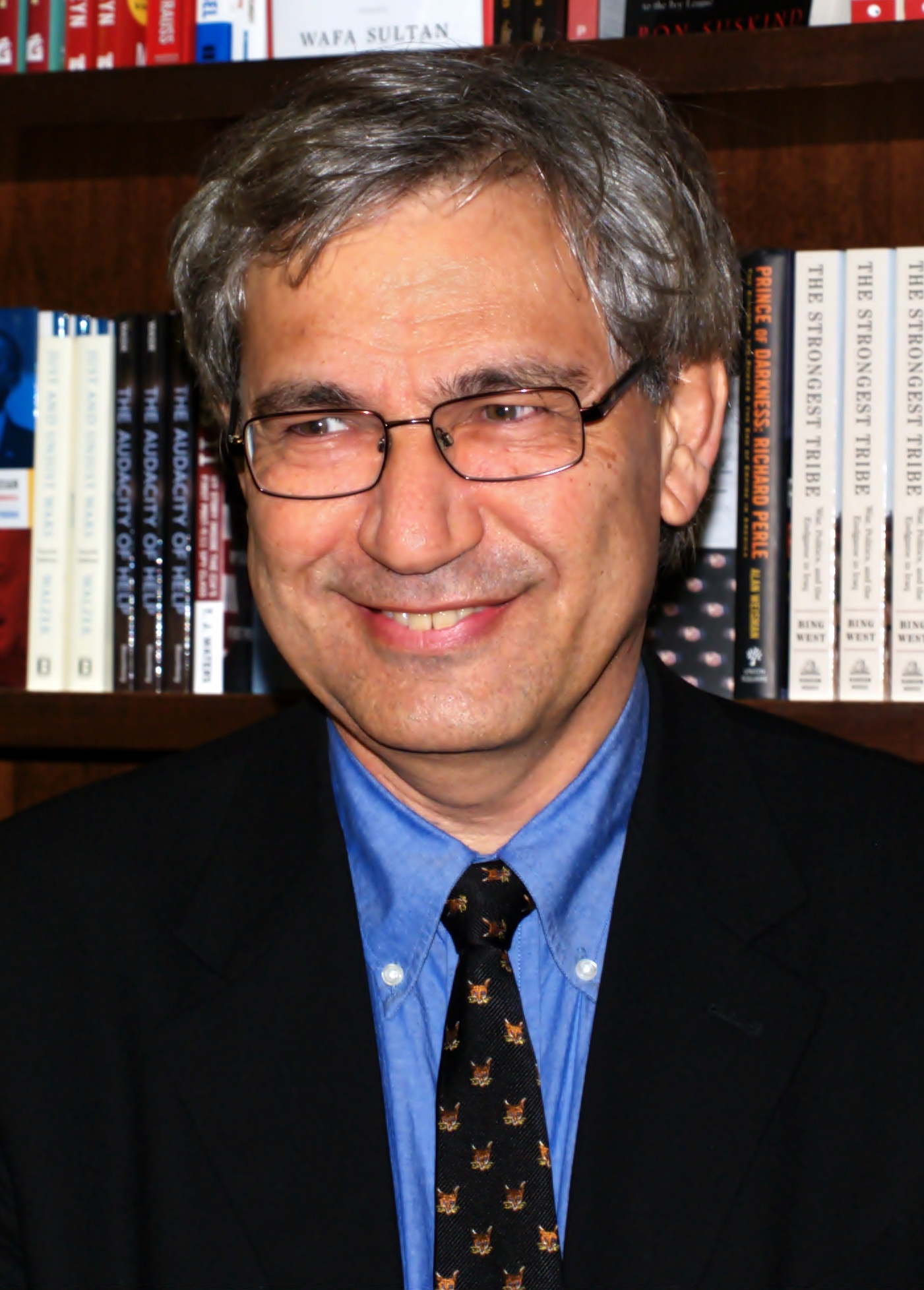 Orhan Pamuk in 2009