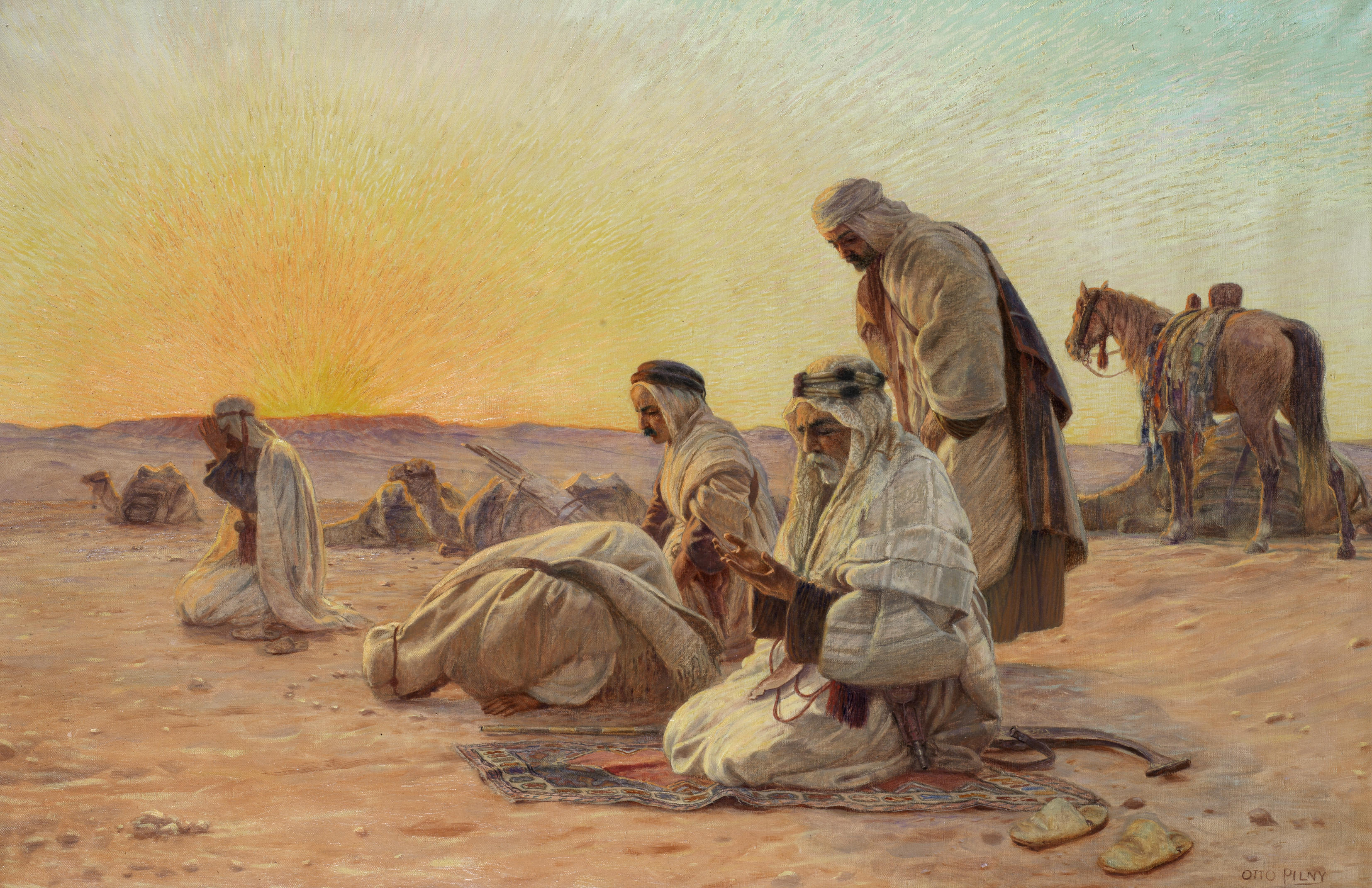 File:Otto Pilny Morning Prayers.jpg - Wikimedia Commons