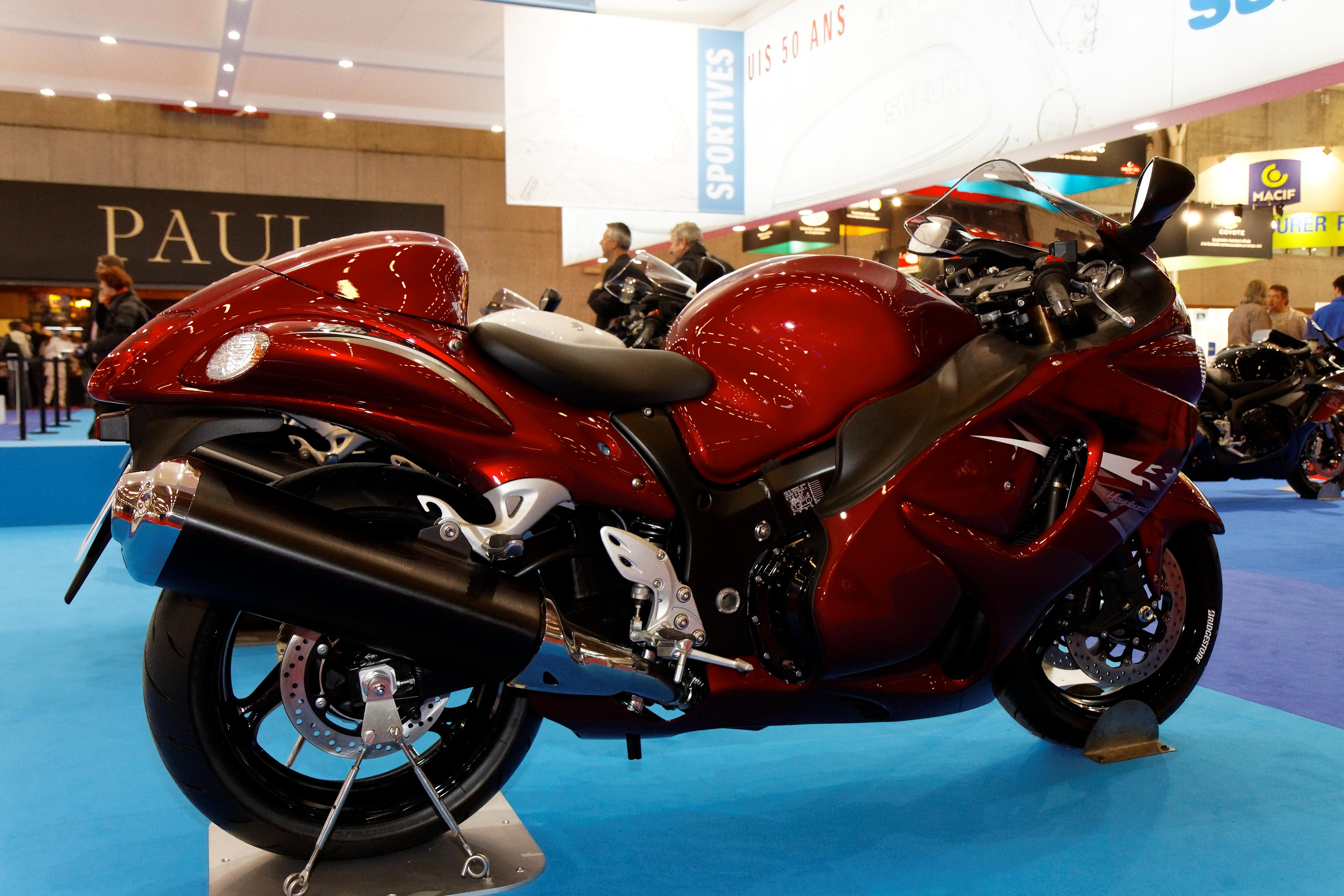 Elegant File:Paris   Salon De La Moto 2011   Suzuki   Hayabusa   003.