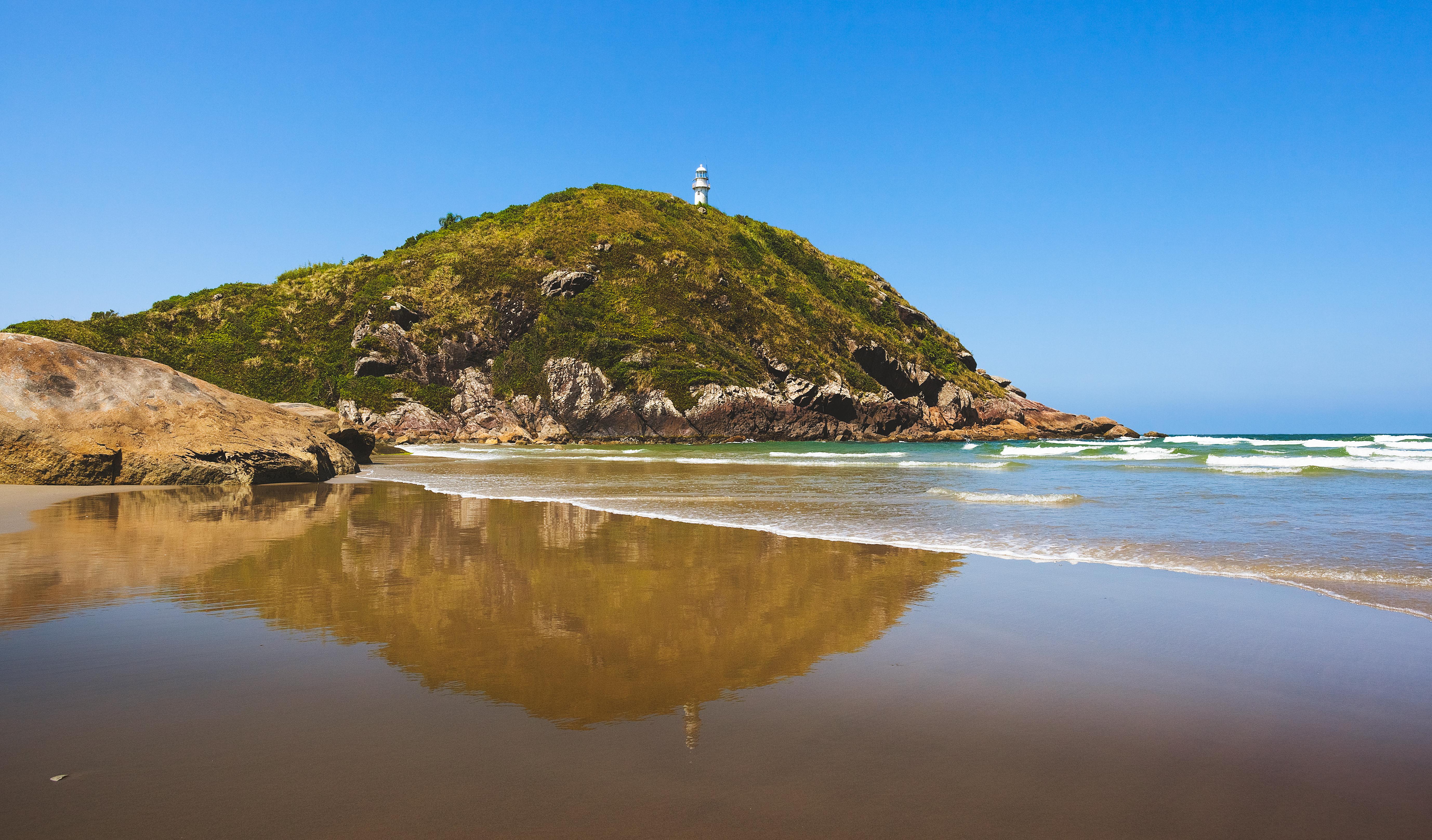 Praia de Fora - Ilha do Mel - Praias do Sul do Brasil