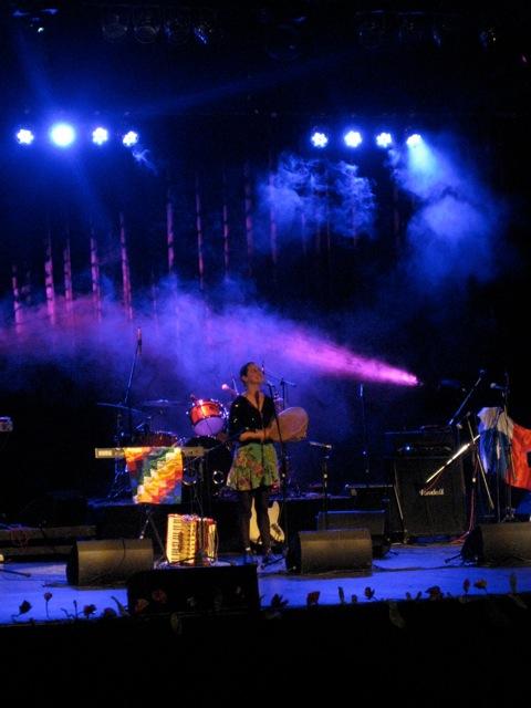 Ilabaca en concierto en 2011.