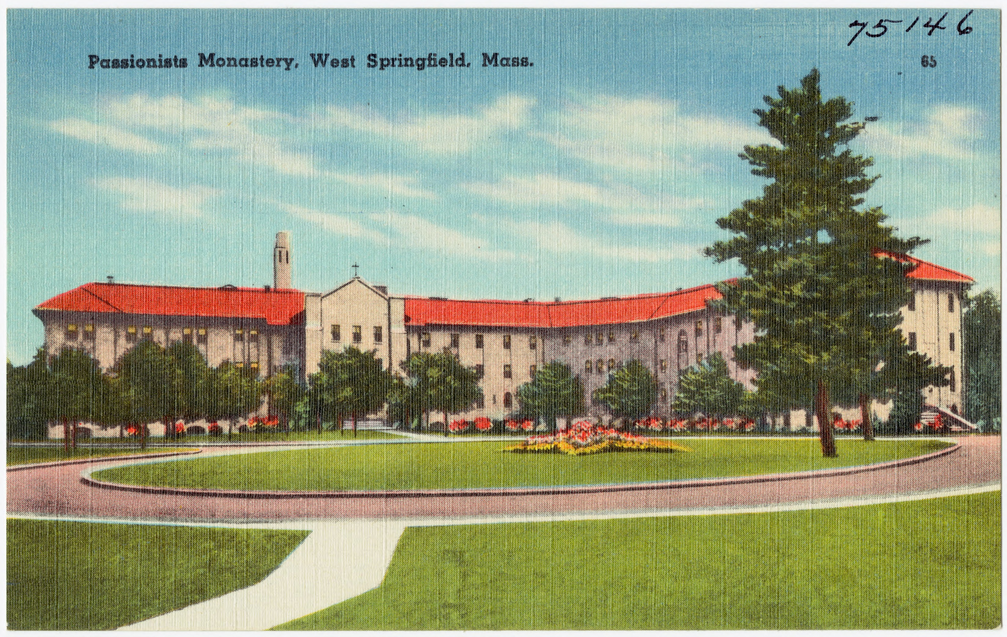 File:Passionists Monastery, West Springfield, Mass (75146