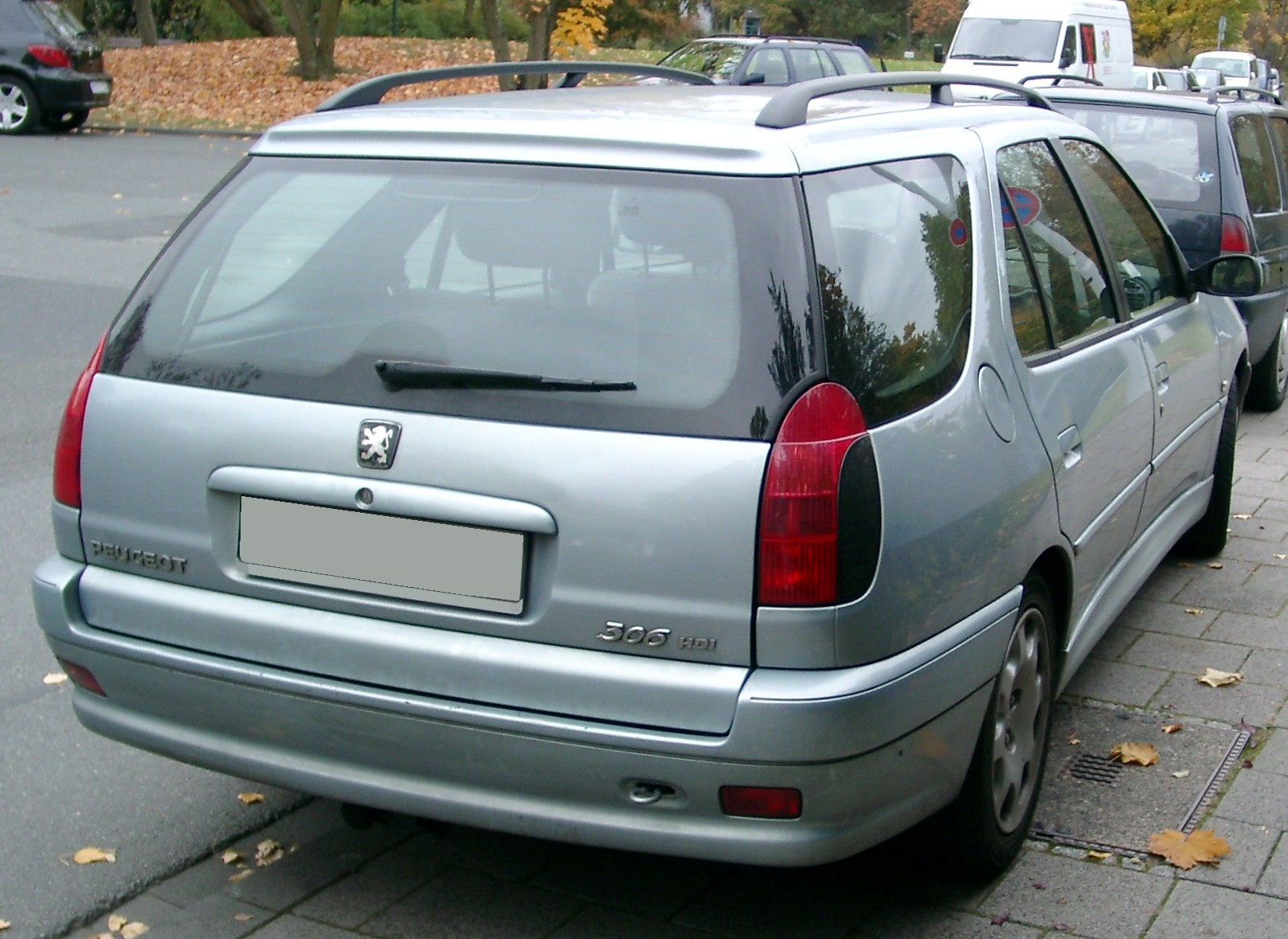 File Peugeot 306 Break Rear 20071026 Jpg Wikimedia Commons
