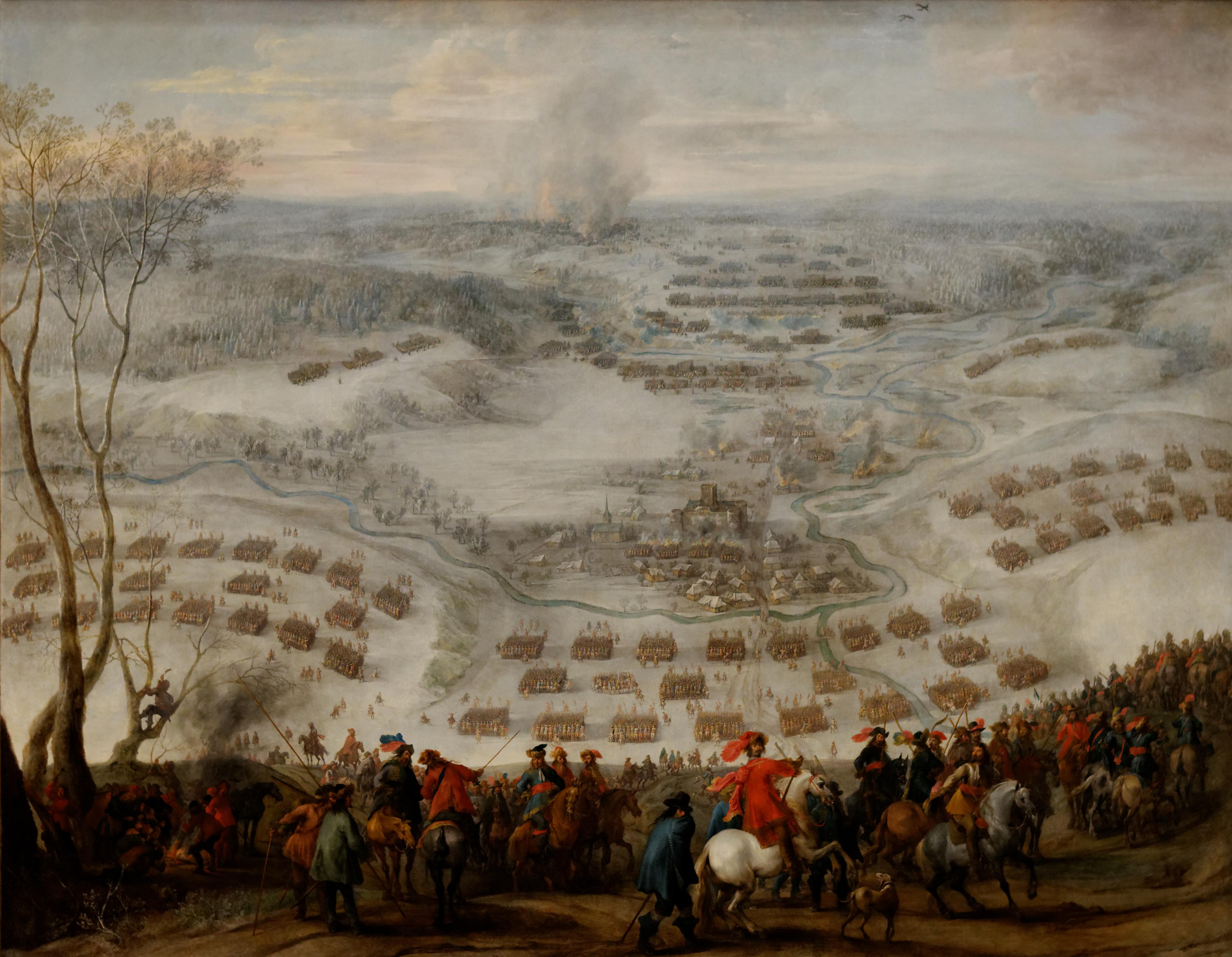 File:Pieter Snayers, Le siège de Presnitz 1641.jpg ...