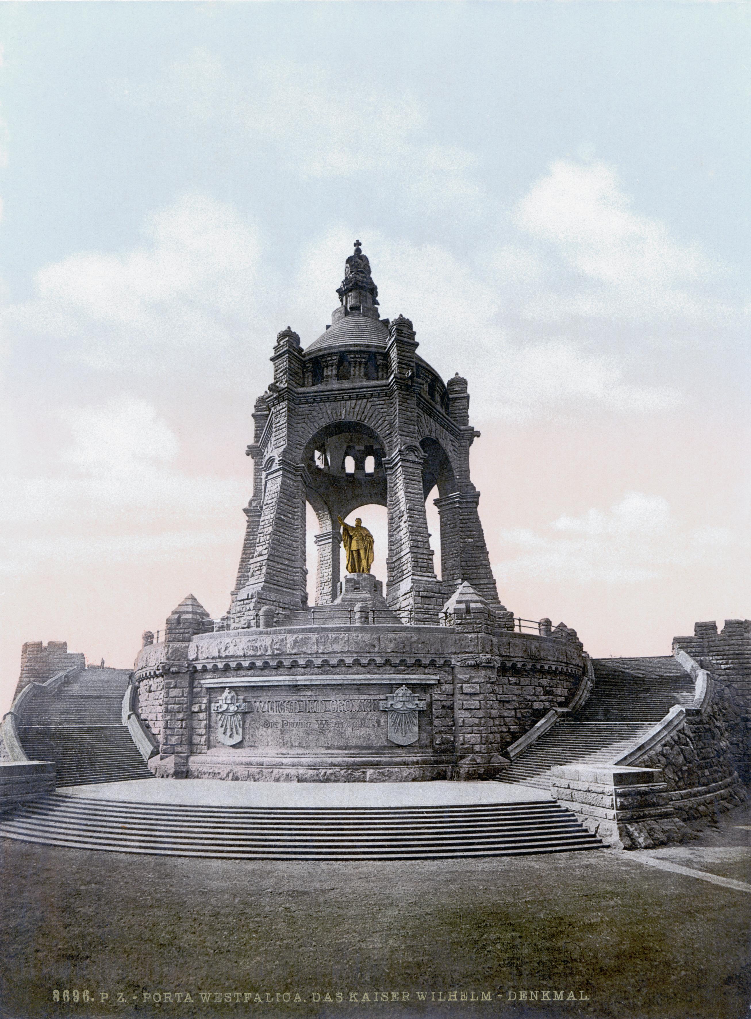 Denkmal Wilhelm 1 Das Kaiser Wilhelm-denkmal