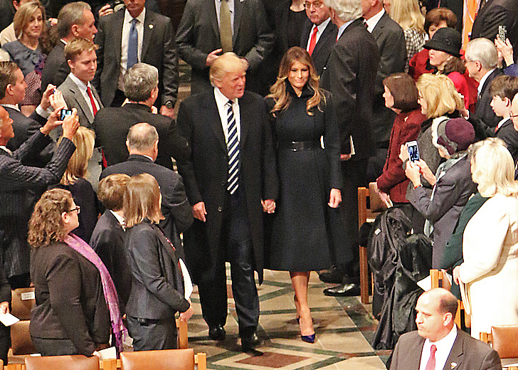 President Donald J. Trump at National Prayer Service (cropped).jpg