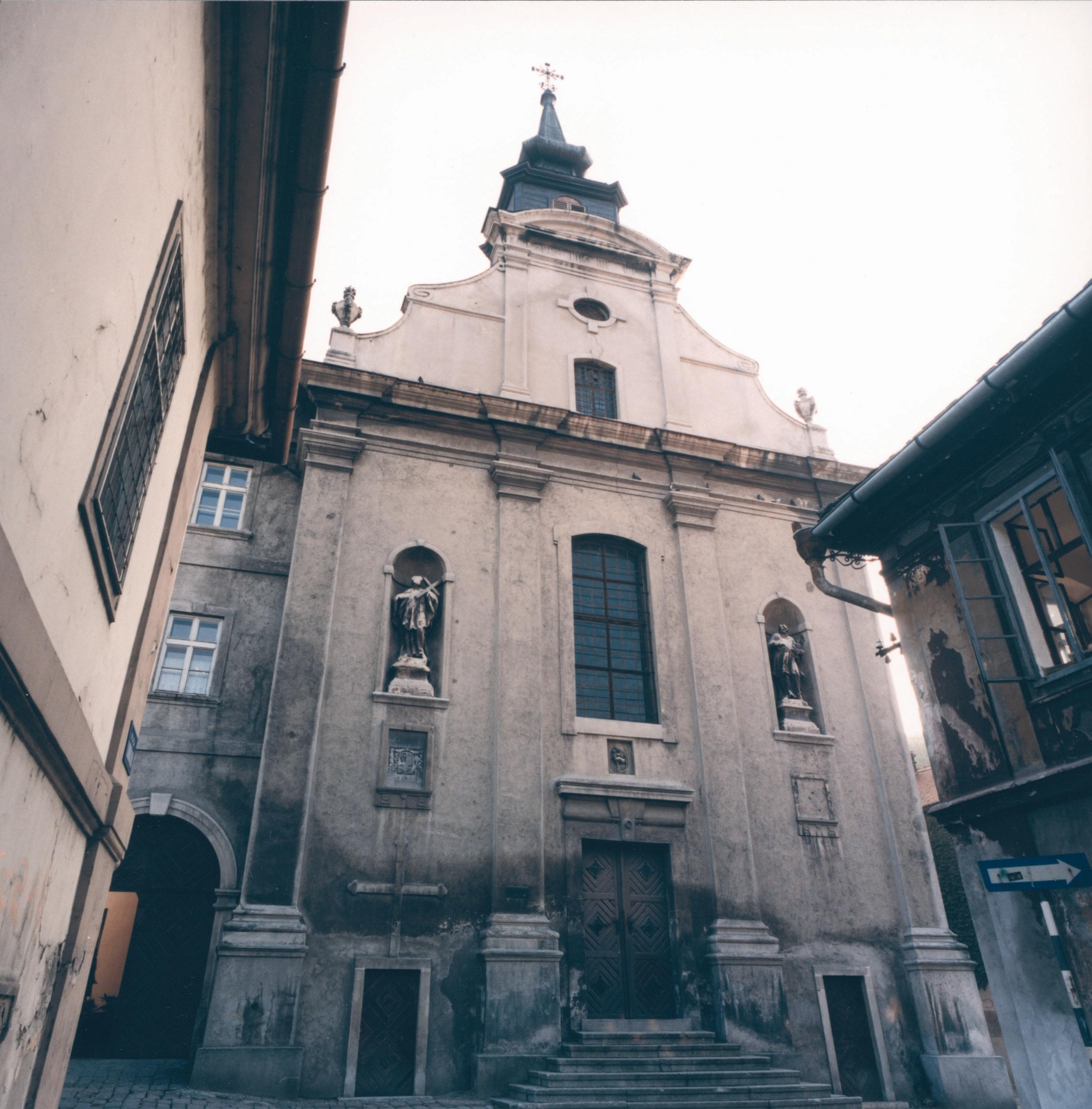 Crkva Sv Jurja U Petrovaradinu Wikipedija