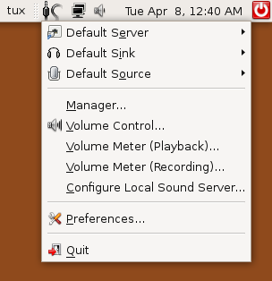PulseAudio Sound server for Unix-like operating systems