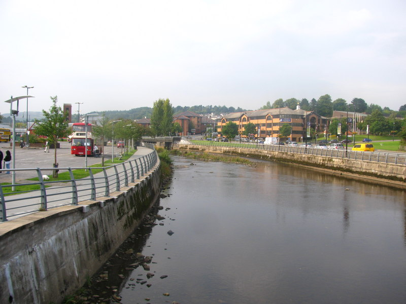 River Taff - geograph.org.uk - 2254168