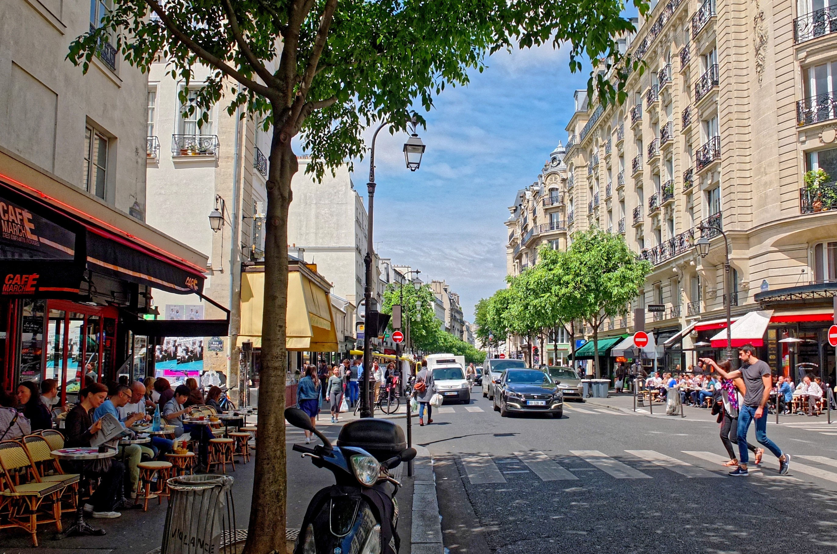 Rue De Bretagne Paris Wikipedia