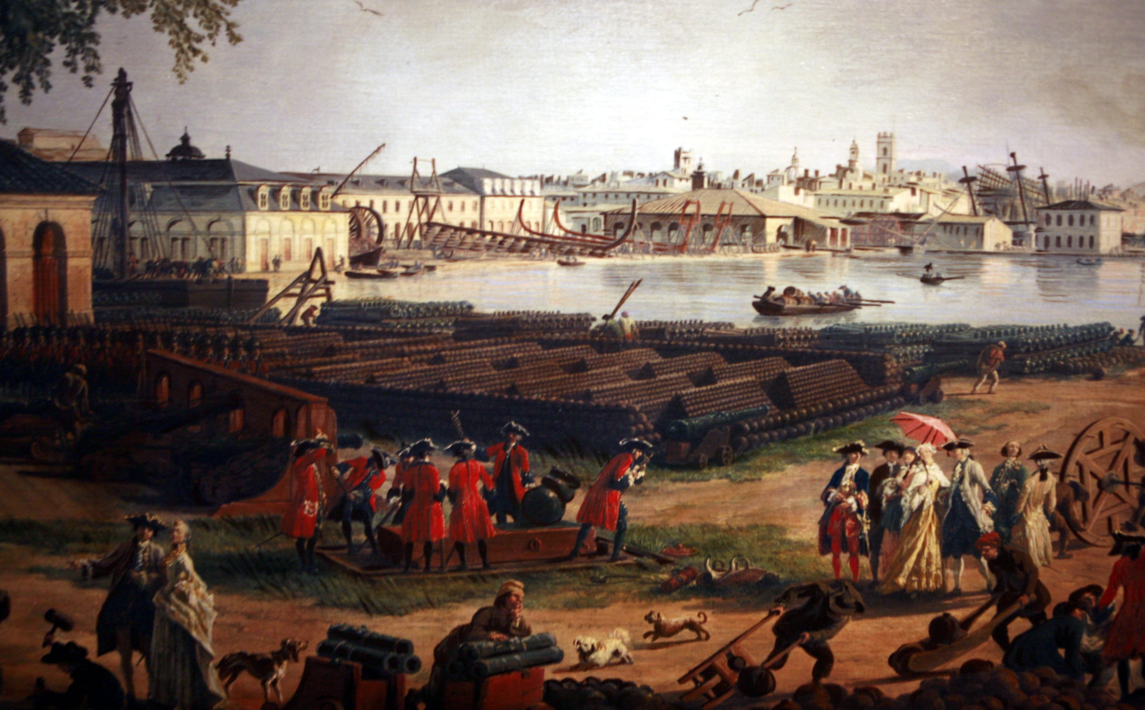 1000 images about claude joseph vernet on pinterest - Le port de bordeaux par joseph vernet ...