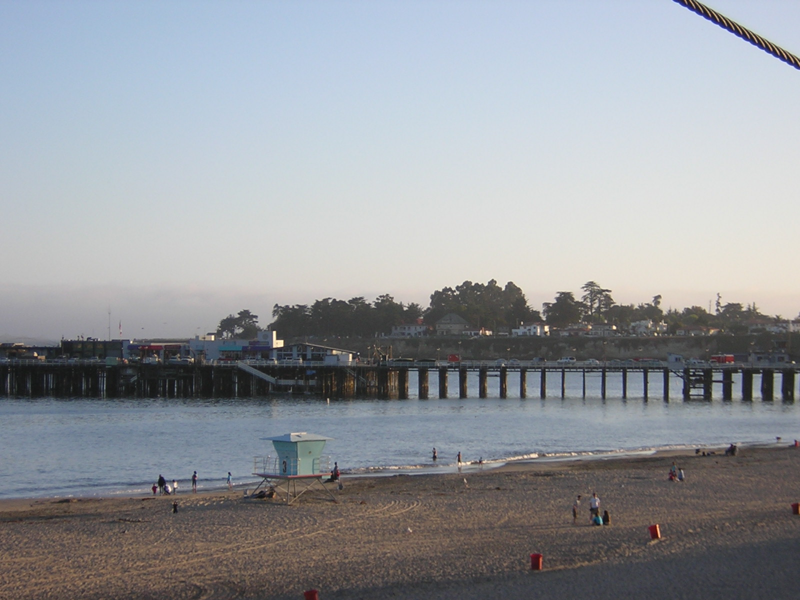 Santa Cruz Beach Boardwalk In California