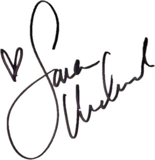 Sara Jean Underwood signature