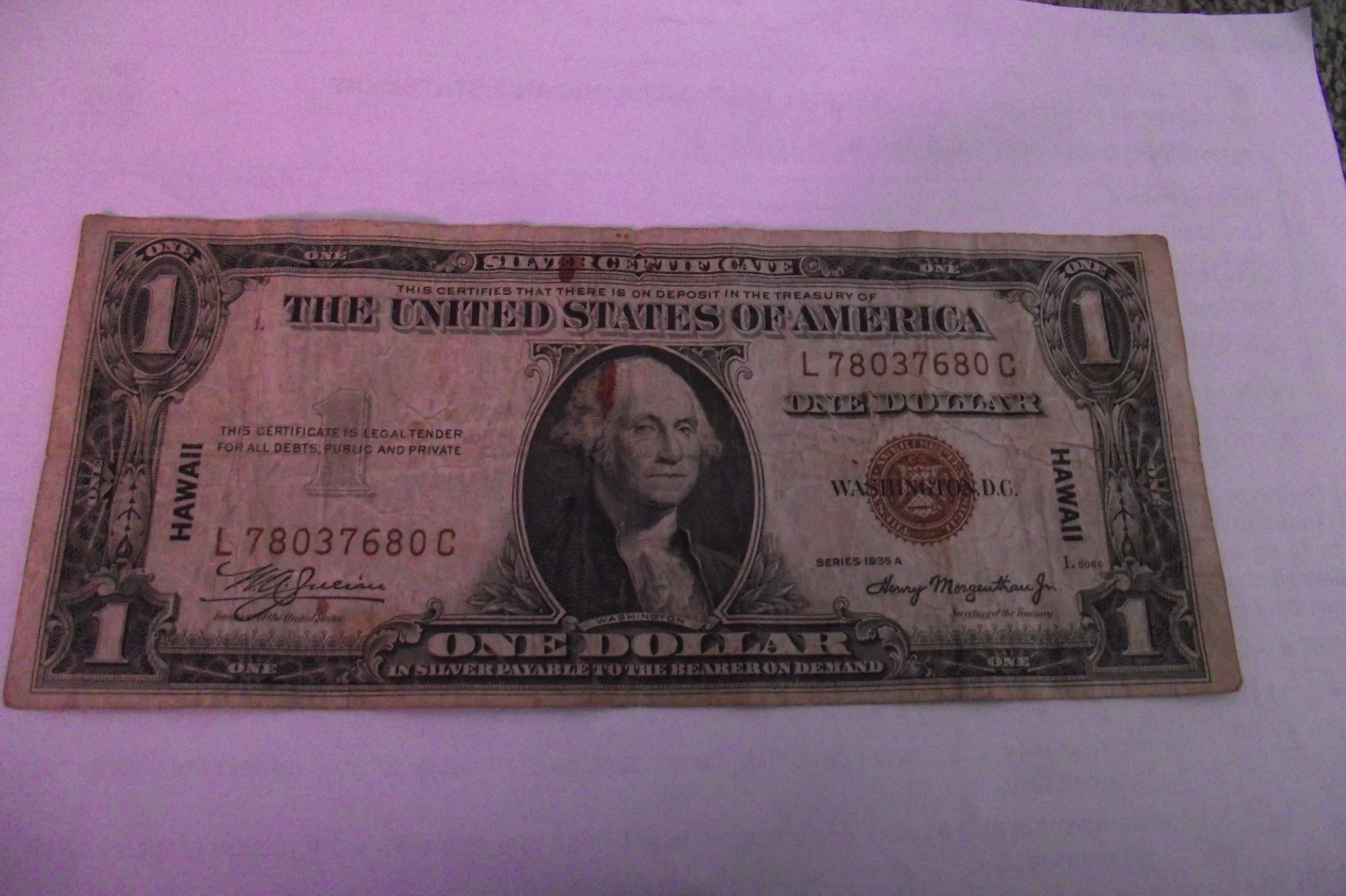 Filesilver Certificate One Dollar Billg Wikimedia Commons