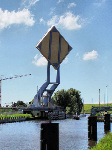 Slauerhoffbrug %E2%80%98Flying%E2%80%99 Drawbridge by Hindrik 1 %Category Photo