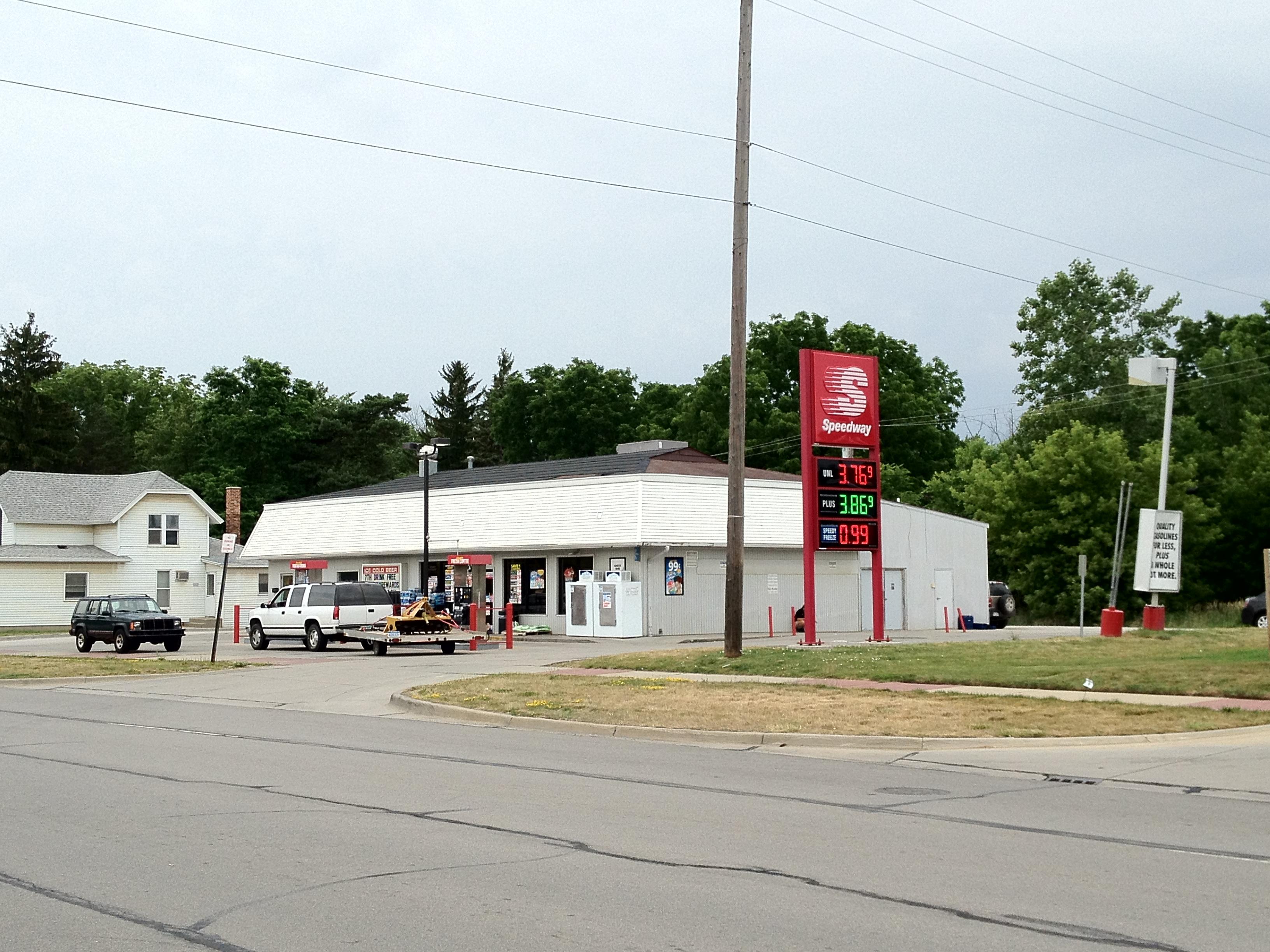 File Smaller Speedway Location In Williamston Michigan Jpg