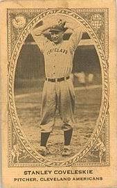 Stan Coveleskie (1922 baseball card)