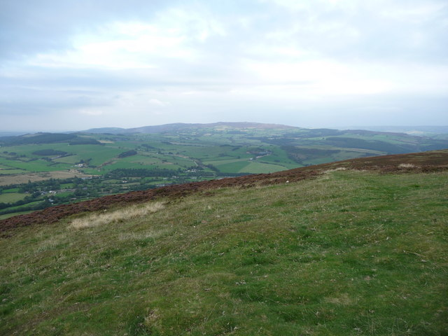 Stiperstones ridge from Corndon Hill - geograph.org.uk - 1499006
