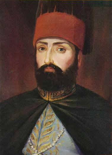 Depiction of Mahmut II