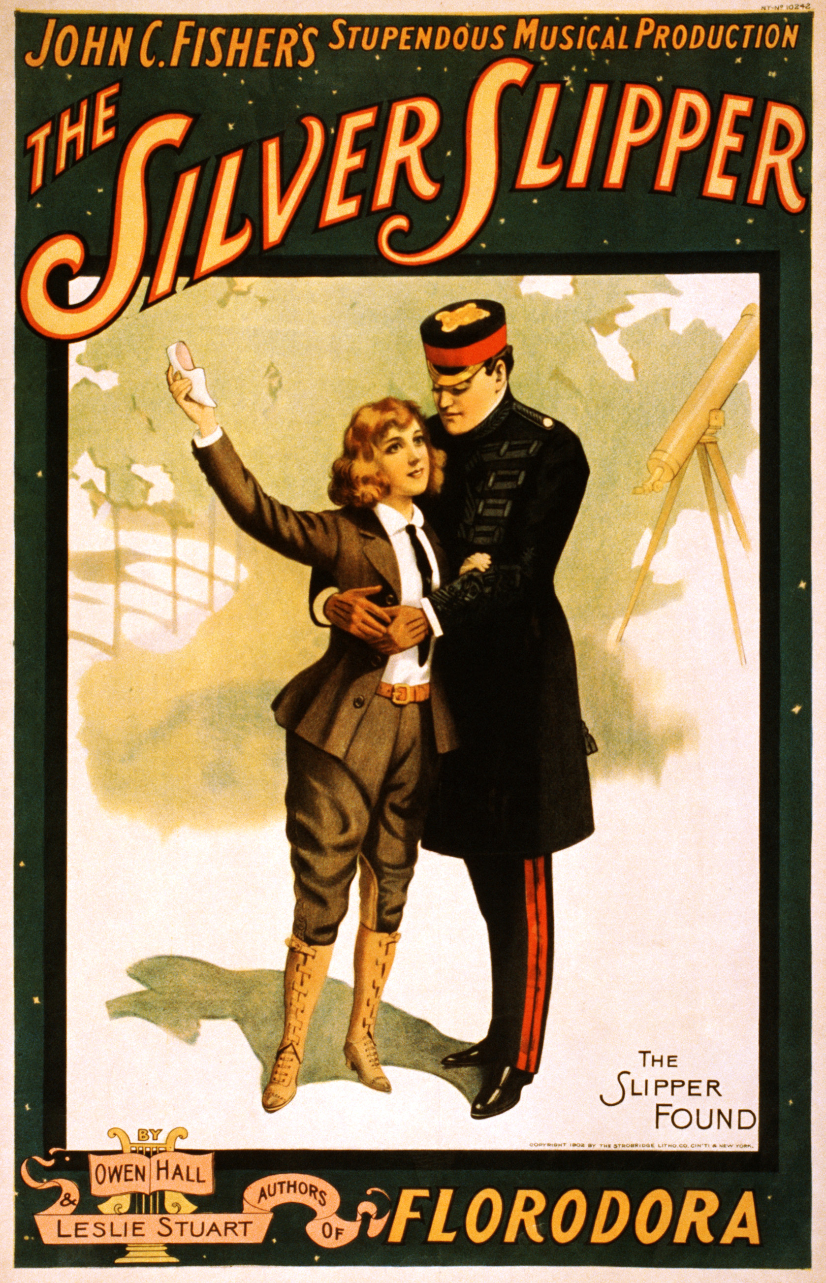 File The Silver Slipper Broadway Poster 1902 Jpg