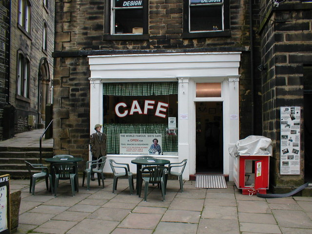 File:The cafe used in 'Last of the Summer Wine' - geograph.org.uk - 1522984.jpg