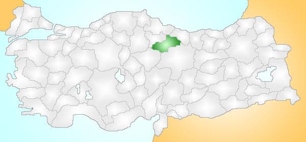Resim:Tokat Turkey Provinces locator.jpg