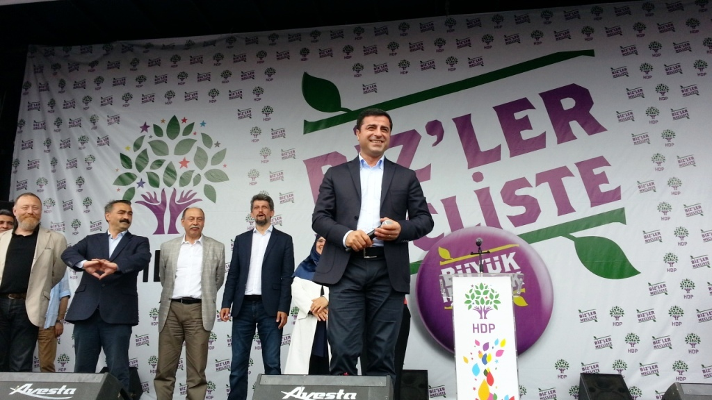 Turkish general election, 2015 - Peoples' Democratic Party (Turkey) Selahattin Demirtaş.jpg