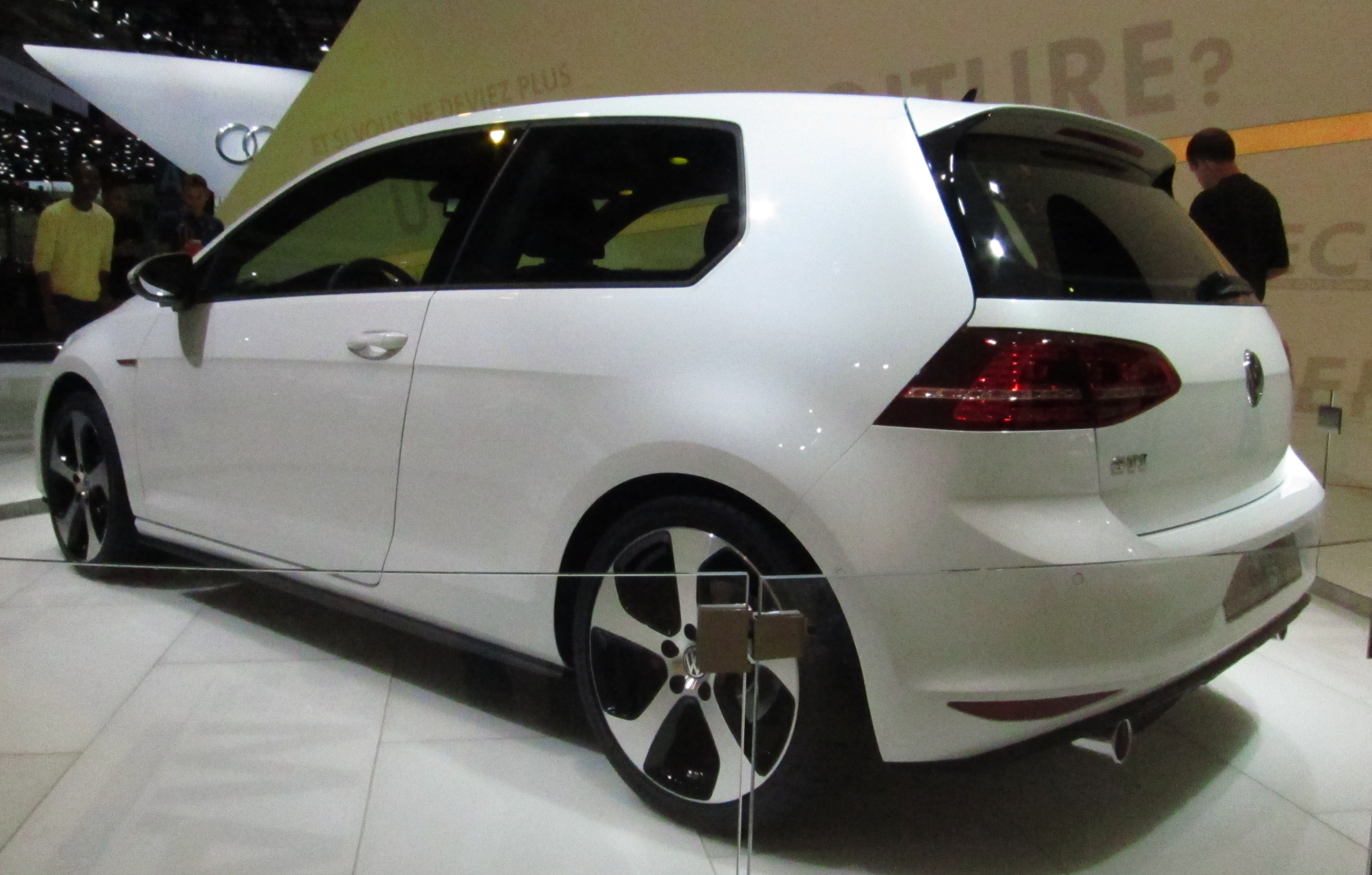 File:Volkswagen Golf VII GTI (rear Quarter) White.JPG