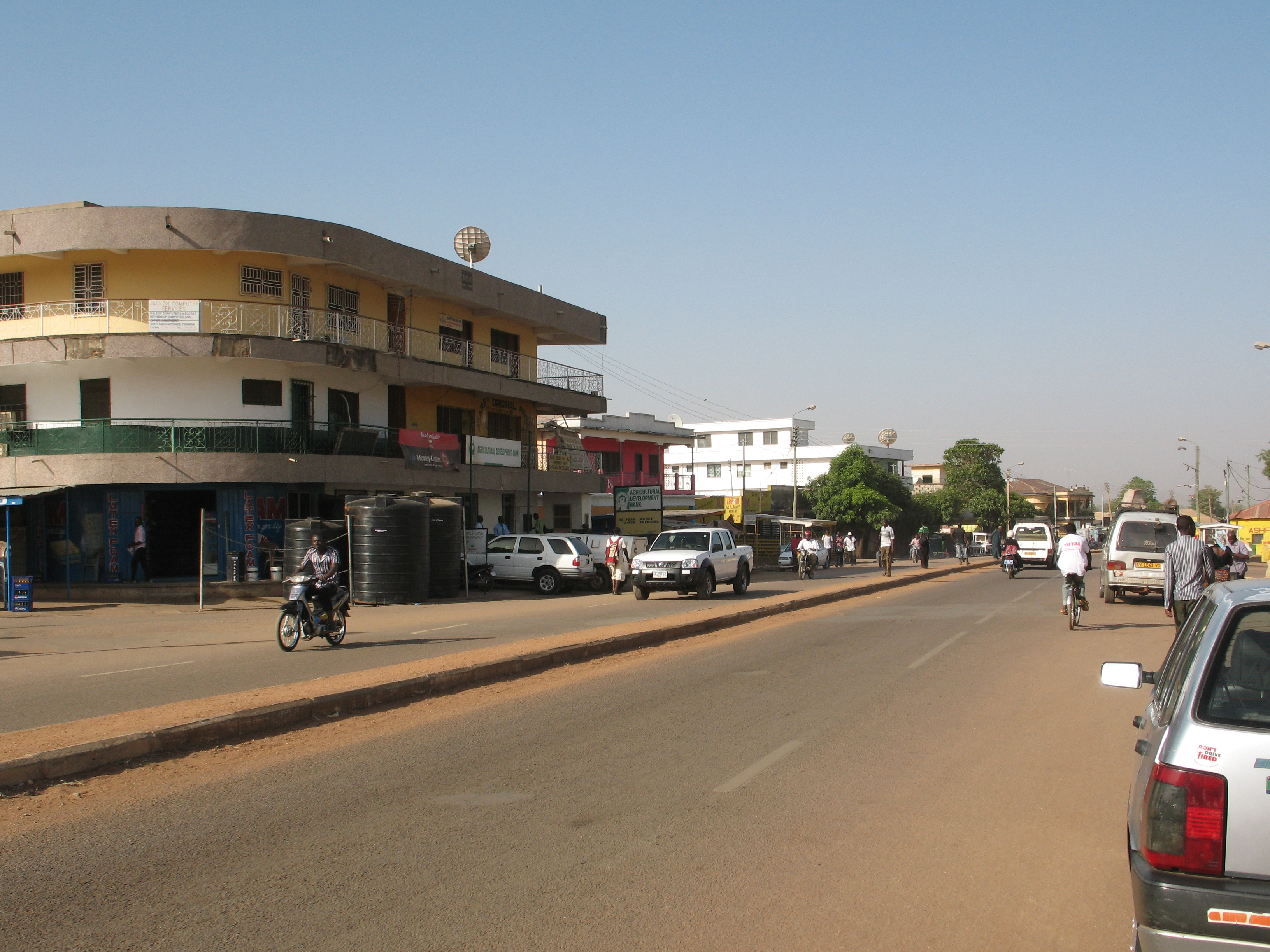 A nice view of Wa township, the capital of Upper West region.