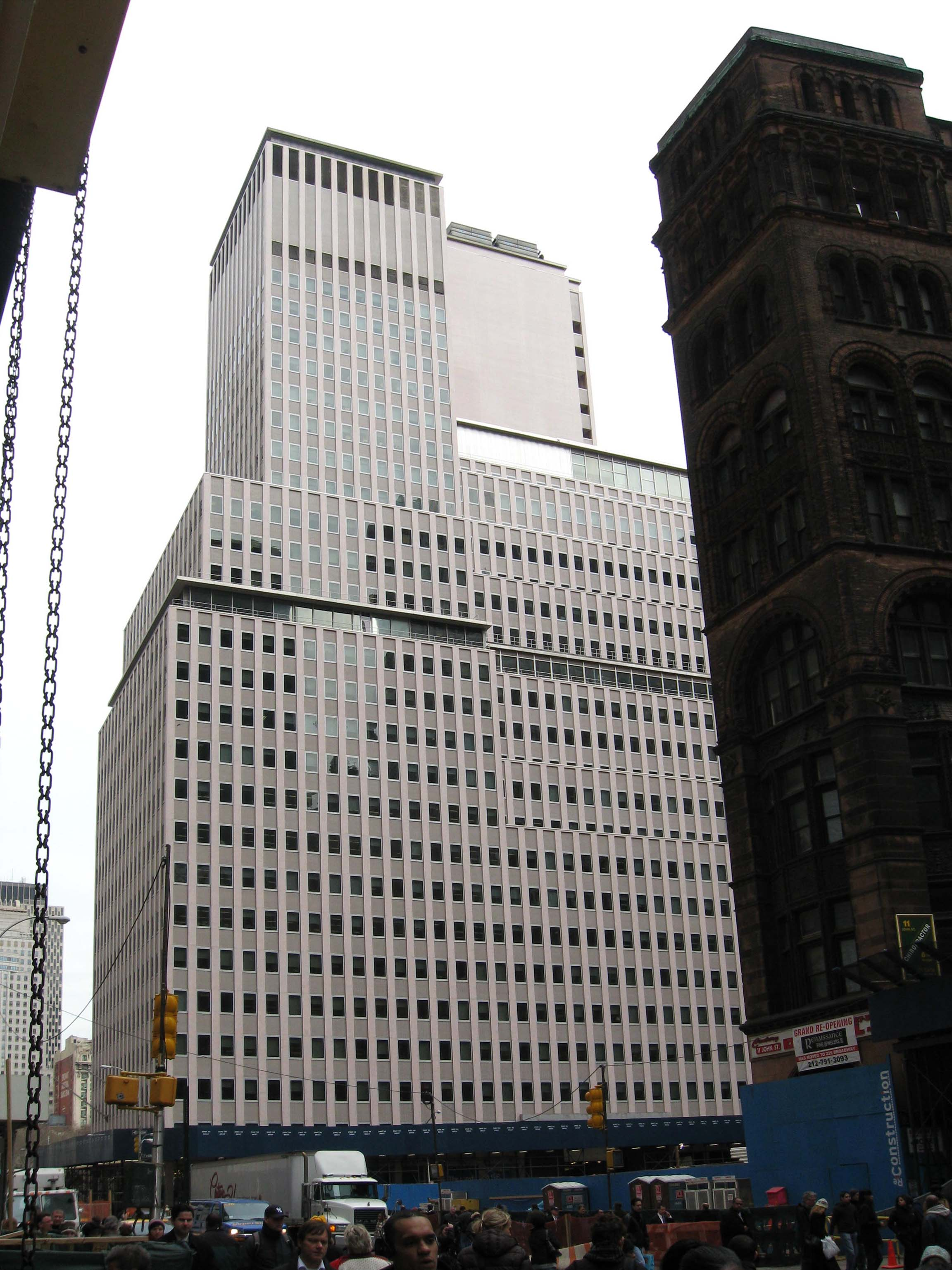 Western Electric Wikipedia Payphone Wiring Diagram Weco Hq At 222 Broadway Until 1984