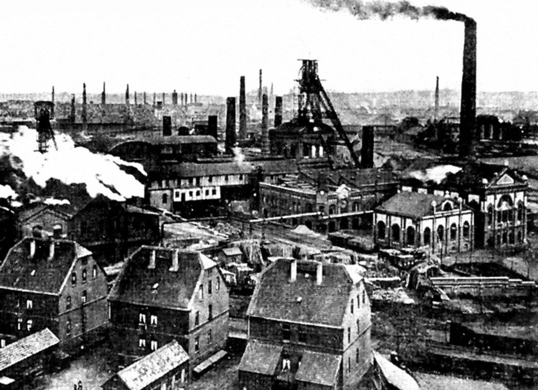 Kohleabbau Ruhrgebiet
