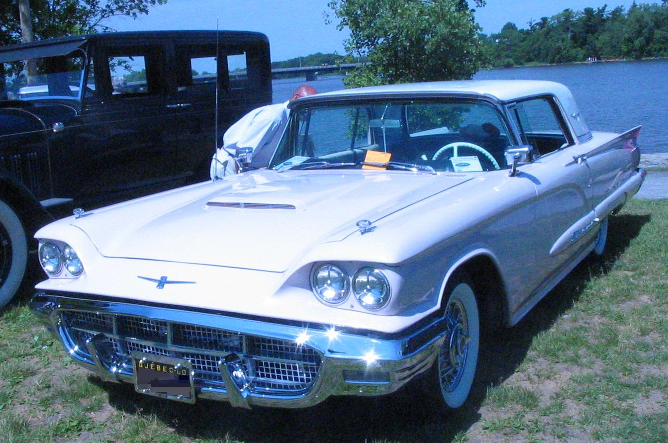 Ford Thunderbird Second Generation Wikipedia 1955 6 Volt Coil Wiring Diagram 1960 Hardtop