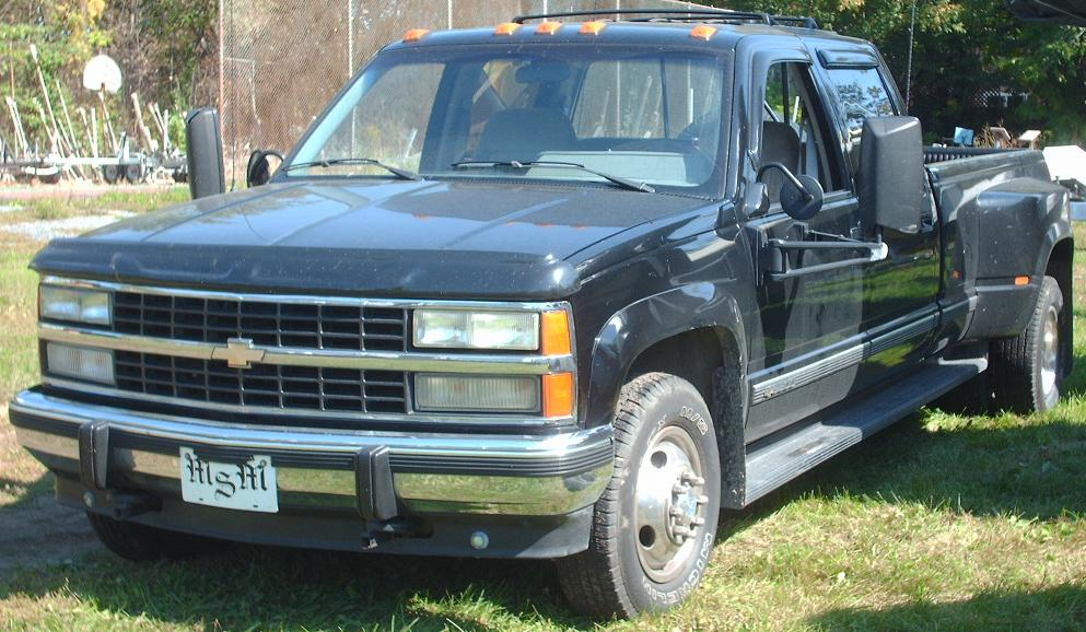 File 88 90 Chevrolet C K 3500 Jpg Wikimedia Commons