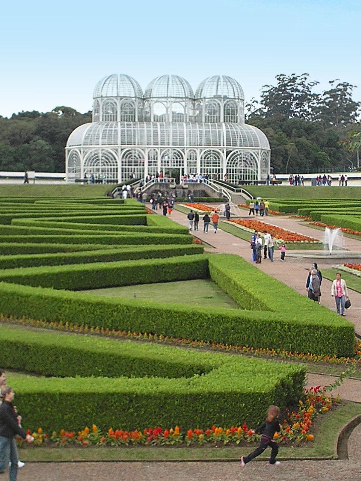 Xardín Botánico de Curitiba