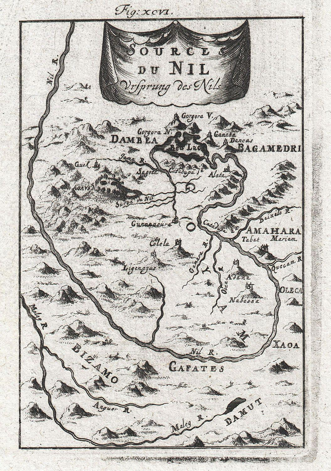 File:1719 Mallet Map of the Source of the Nile, Ethiopia (Abyssinia)