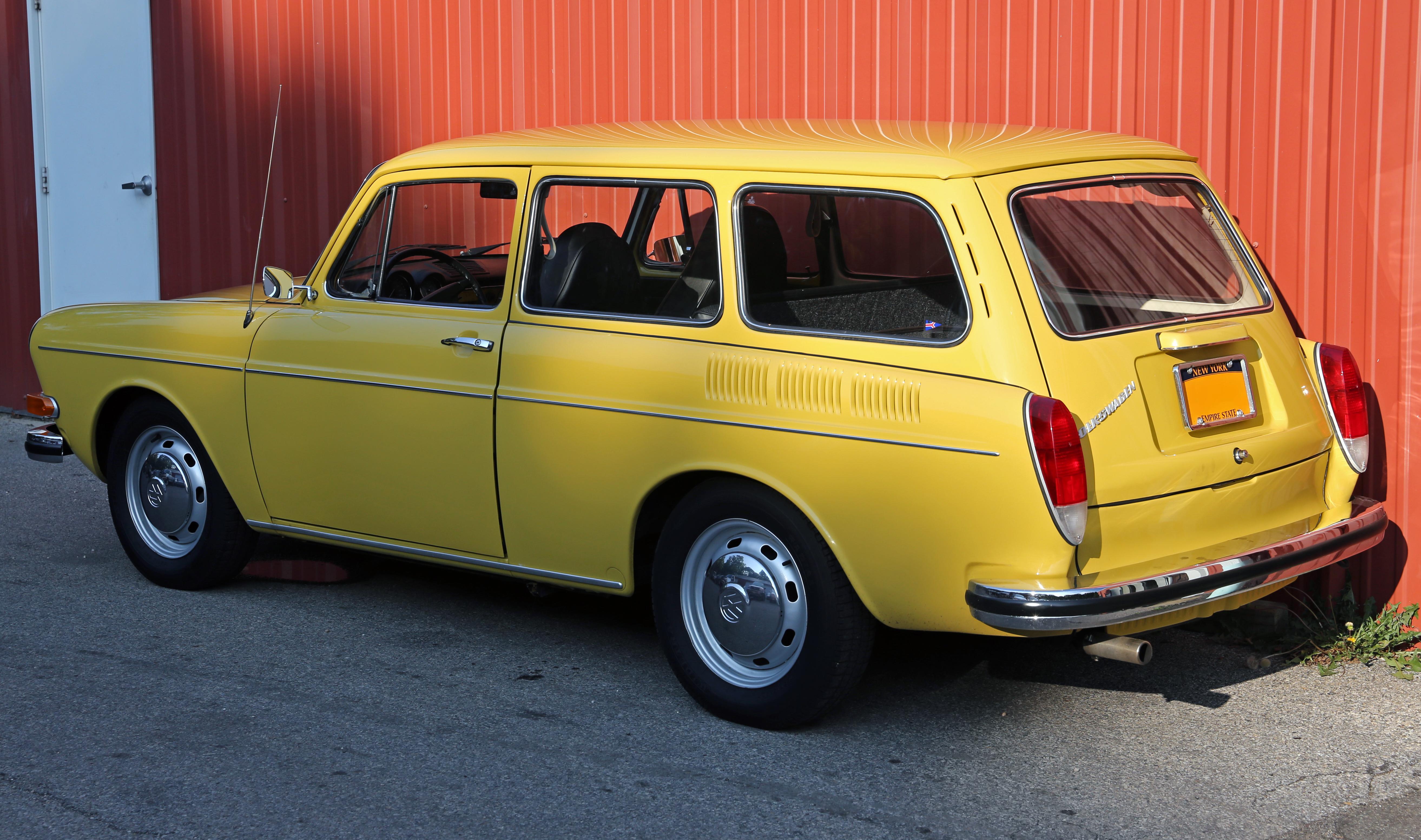 File 1973 Volkswagen Variant Typ 3 1600 Us Rear Left