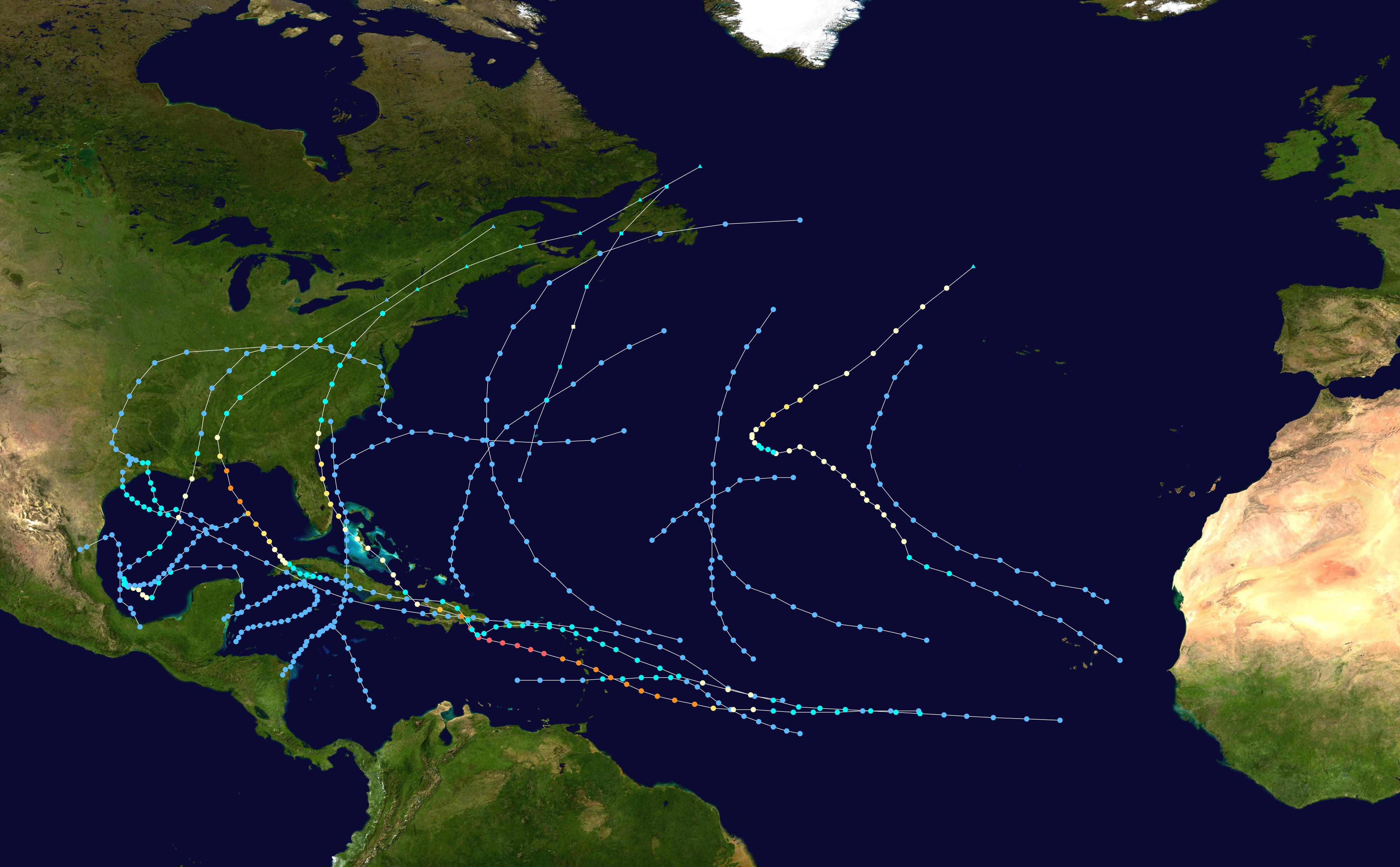 1979 Atlantic Hurricane Season Wikipedia