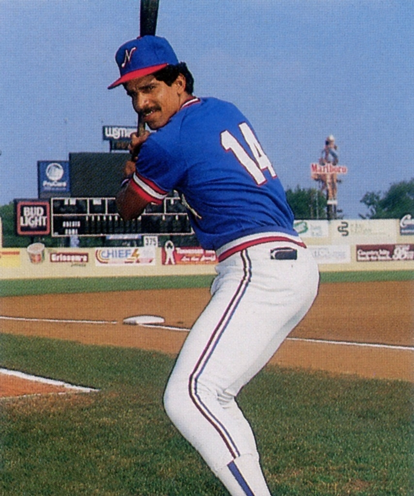 Rivera with the [[Nashville Sounds]] in 1986