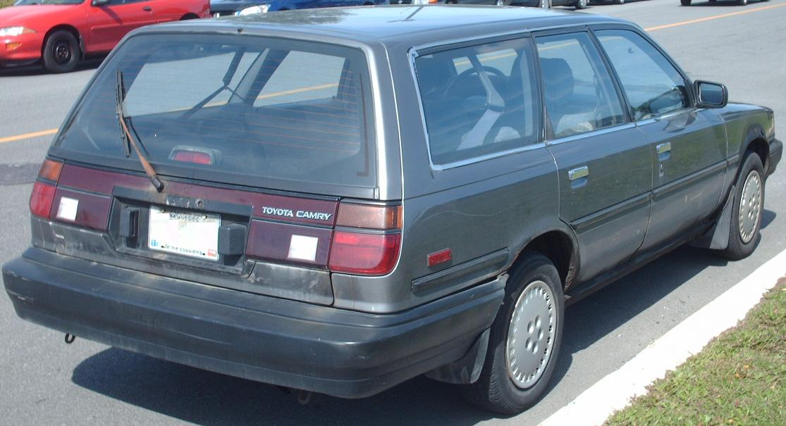 File 1987 1990 Toyota Camry Wagon Jpg Wikimedia Commons
