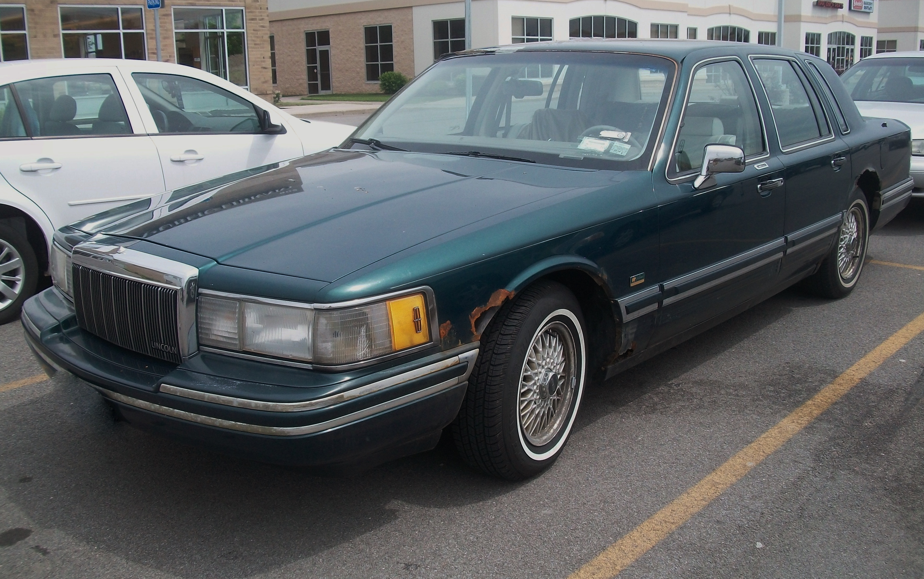 File 1992 Lincoln Town Car Jack Nicklaus Jpg Wikimedia Commons