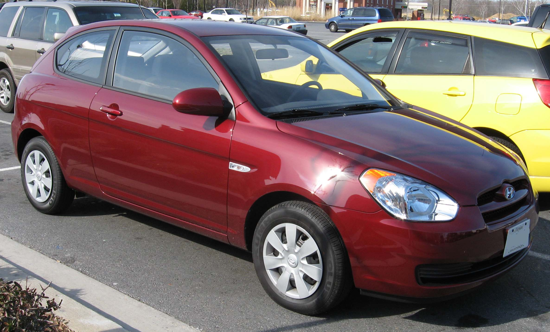 File 2007 Hyundai Accent Hatchback Jpg Wikimedia Commons