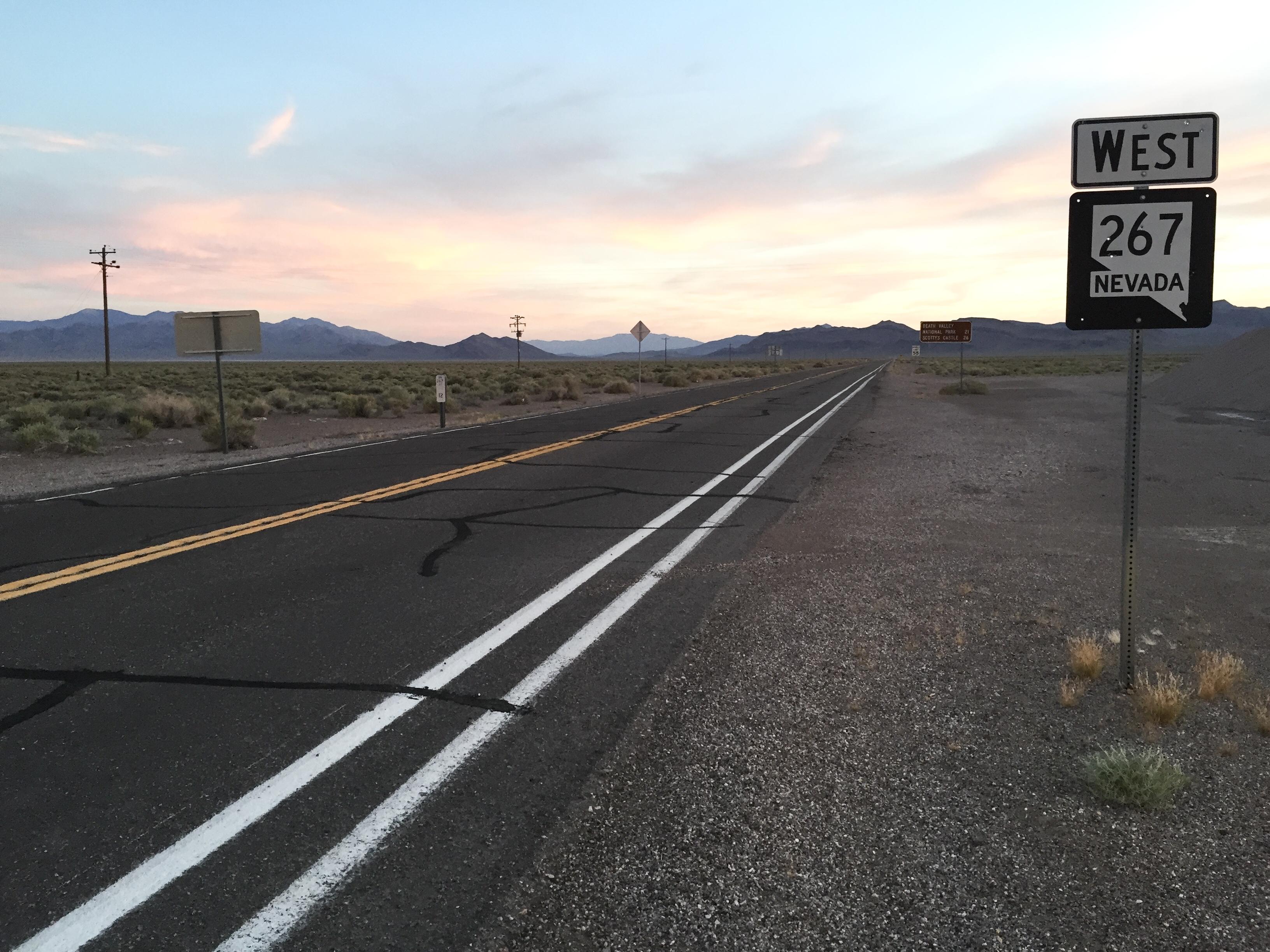 Nevada State Route 267 Quiz