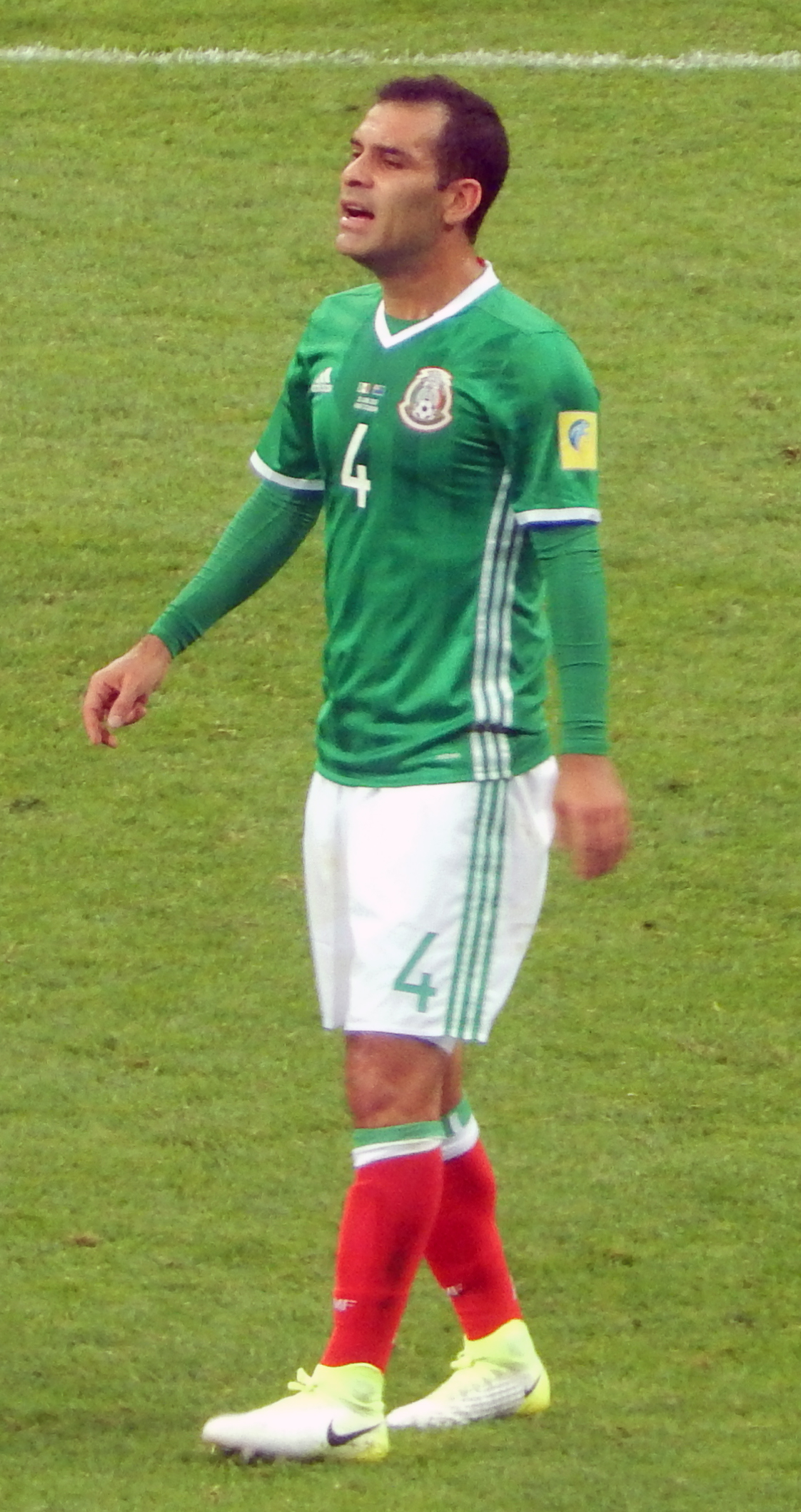 Márquez playing for Mexico at the 2017 FIFA Confederations Cup