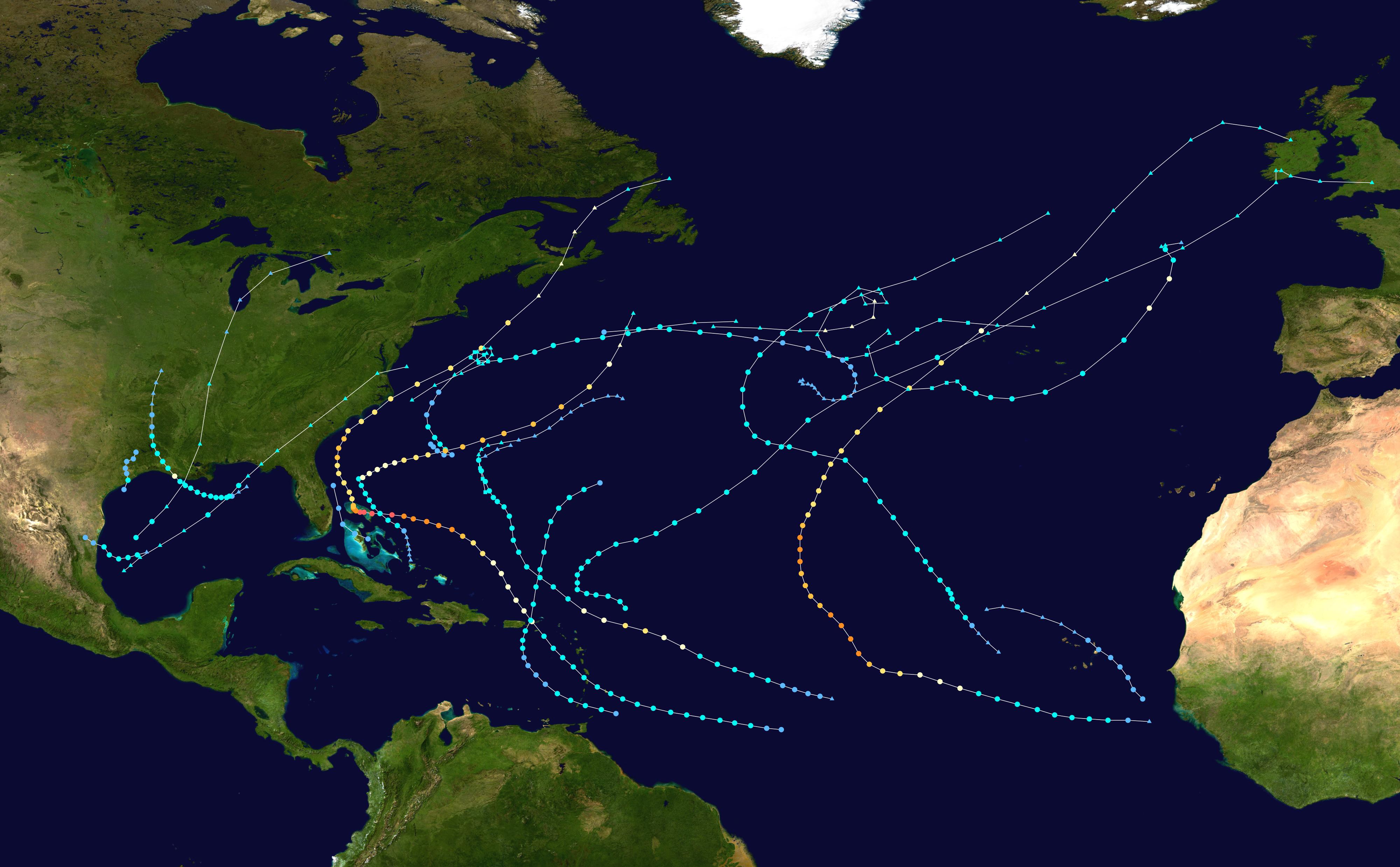 2019 Atlantic hurricane season - Wikipedia