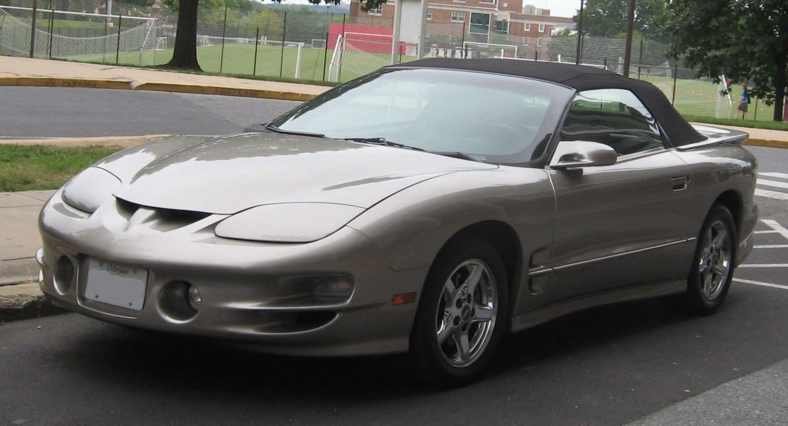 2002 pontiac firebird base 2dr hatchback 3 8l v6 manual rh carspecs us 1996 Pontiac Firebird 1997 Pontiac Firebird
