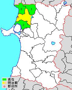 Yamamoto District, Akita district of Japan