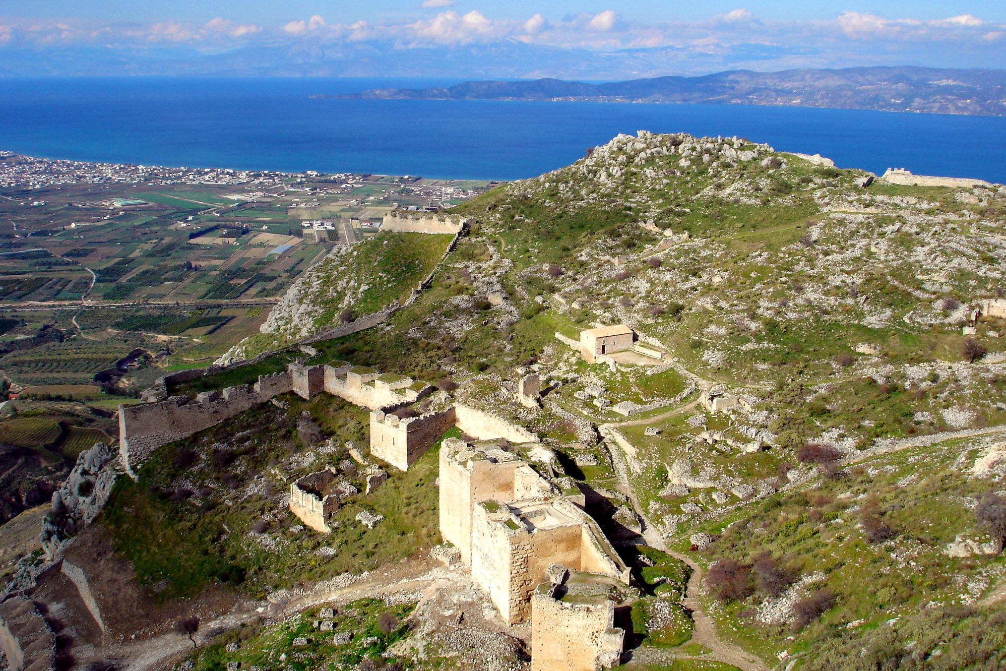 Corinth Greece  city photos gallery : Castle of Acrocorinth Overview