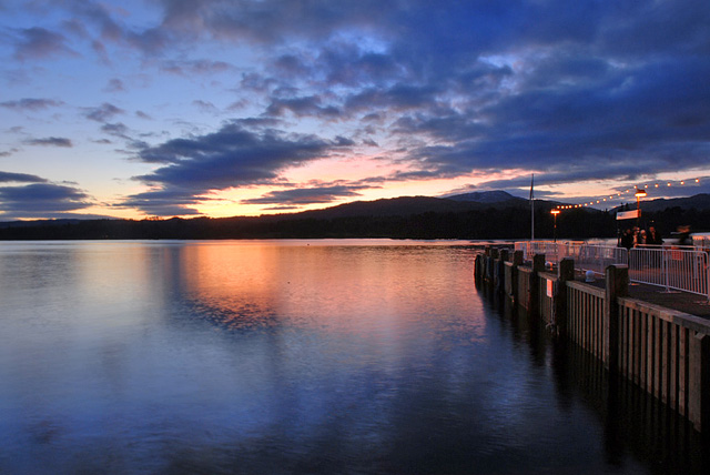 Ambleside Sunset - geograph.org.uk - 944969