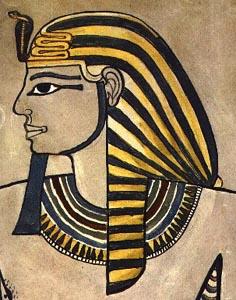 Soubor:Amenhotep II Uraeus.jpg